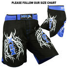 Kyпить MRX MMA Shorts Fight Short Grappling UFC Cage Kick Boxing Black Blue на еВаy.соm