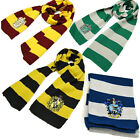 UK Harry Potter Gryffindor/Slytherin/Hufflepuff/Ravenclaw House Scarf/Tie Xmas