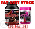 **STACK** RHS LIPO BURN AMPED + ACETYTL L-CARNITINE - THERMOGENIC PROTEIN