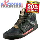 Reebok Womens Dance UrTempo Mid Workout Fitness Gym Trainers Green *AUTHENTIC*