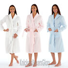 Womens/Ladies Fleece Dressing Gown/Bath Robe/Wrap Size 10, 12, 14, 16, 18, 20