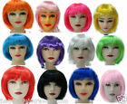 NEON BOB WIG 80's FANCY DRESS TUTU