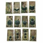 Rifles rank slides in multicam come in packets of two