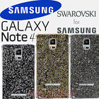 SAMSUNG Galaxy NOTE4 SM-N910 Genuine Swarovski Crystal Back Cover Case EF-ON910R