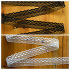 10-200 Yard Embroidered Net Lace Trim Ribbon 2 Color Select FF-170