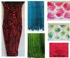 LADIES SARONG CASUAL BEACH DRESS  size 10 12 14 16 18