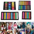 36 Colors Non-toxic Temporary Hair Chalk Dye Soft Pastels Salon Kit Show Party