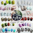 New Nail Art Image Stamp Stamping Plates Manicure Template Q21-40 Series