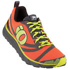 PEARL IZUMI Men's EM Trail N2 Trail Running Shoes, Flame/Shadow Grey
