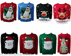 KIDS BOYS GIRLS CHRISTMAS NOVELTY JUMPERS 5-13 YEARS
