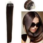 """22""""MICRO LOOPS #2 Nearly 1G 0.9g THICK HUMAN HAIR EXTENSIONS STRAIGHT UK SELLER"""