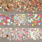 Wood Craft Buttons Scrapbook Sewing Various Mixed HUGE SELECTION OF SHAPES!