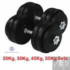 20kg 30kg 40kg 50kg Dumbbell Sets Free Weights Sets Pro Training Barbell Sets
