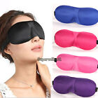 HOT 1x3D Eye Mask Shade Cover Rest Sleep Eyepatch Blindfold Shield Sleeping Aid