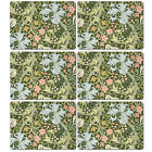 william morris set of 6 placemats or set of 6 coasters Golden Lily