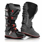 ACERBIS X MOVE 2.0 BOOTS GREY HINGED MOTOCROSS MX ENDURO ATV QUAD CHEAP NEW GRAY