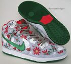 NIKE DUNK HIGH SB PRM CONCEPTS UGLY CHRISTMAS SWEATER 7.5 8.5 northern lights