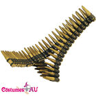 Bullet Belt Bandolier Cowboy Western Rambo Military Gangster Costume Accessory