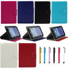 7 Universal PU Leather Stand Case Cover For Verizon Ellipsis 7 Inch RCA Tablet