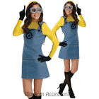 CL245 Despicable Me 2 Lady Minion Adult Womens Funny Movie Costume Halloween