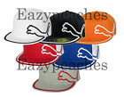 PUMA Golf - Cat Logo, Monoline FLATBILL, Fitted Baseball Hat, Tour, HIPSTER Hat