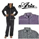 New Aria Collection Soft Microfleece Ladies 2 Piece Pajama Set! Variety Sz/color