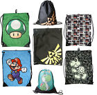 Nintendo/Super Mario: Gym/Swim Bag - New & Official With Card Tag Yoshi / Zelda