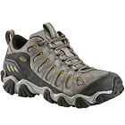 OBOZ Men's Sawtooth Low WP Hiking Shoes, Pewter