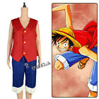 Fancy Style Monkey D. Luffy Cosplay Anime Costume One piece Suit Free Shipment