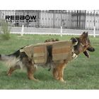 Army Tactical Dog Molle Vests + Bags Outdoor Military Dog Clothes Load  Harness