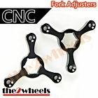 CNC Fork Preload Adjusters 17mm Hex for Yamaha YZF600R Thundercat 1996-2004