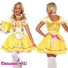 Ladies Oktoberfest Beer Maid Wench Costume Gretchen German Fancy Dress Halloween