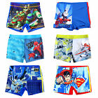 New Boys Character Swimming Trunks Swim Shorts Age 2 3 4 5 6 7 8 9 10 11 12