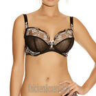 Fantasie Lingerie Melissa Side Suppport Plunge Bra Black 2932 NEW Select Size