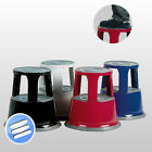 High Quality Heavy Duty Step Foot Kick Stool with Castors Retail, Office, Shop.