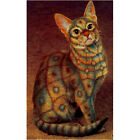 "Needlepoint canvas ""Egyptian cat"