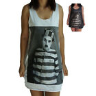 Charlie Chaplin Vest Tank-Top Singlet (Dress T-Shirt) Sizes S M L XL