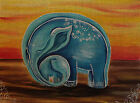 "Needlepoint canvas ""Elephant's tenderness"" by Nadejda Ovcherenko"