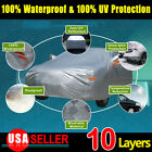10-Layers-Full-Size-Car-Cover-Universal-Fit-Sun-UV-Waterproof-Resist-Protection