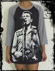 Unisex Johnny Strummer Raglan 3/4 Length Sleeve Baseball T-Shirt(Vest Tank)