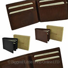 NEW Mens Vintage Leather Bifold with Flap WALLET by Golunski Graffiti Gift Box