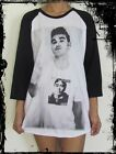 Unisex Morrissey The Smiths Raglan 3/4 Length Sleeve Baseball T-Shirt(Vest Tank)