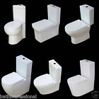 Toilet WC Bathroom Ceramic Square Egg Small Short Project Corner Cloakroom White