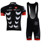 New Casual Mens Bike Cycling Clothing Jersey Bib Shorts Kits Outdoor Sport Team