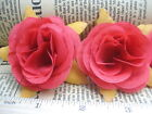 "10pcs rose Artificial Silk Flower Heads Wedding bridal decor garden 2"" 5cm"