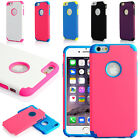 Hard + Soft Rubber Hybrid Impact Defender Case for Apple iPhone 6 / 6S Plus #R21
