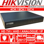 HIKVISION CCTV DVR 4CH 8CH 16CH TURBO CHANNEL HDTVI 1080P HD TVI HIGH DEFINITION