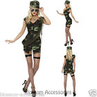 CL359 Ladies Combat Army Girl Top Gun Flight Military Police Soldier Costume