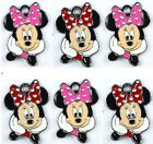 Lot Mixed Minnie Mouse Head Jewelry Making Metal Charms Pendants Party Gifts E58