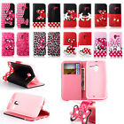 Hot Bow Wallet Stand Card holder Flip leather case cover For Motorola MOTO G X E